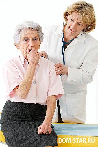 Кашель у пожилых людей причины и лечение